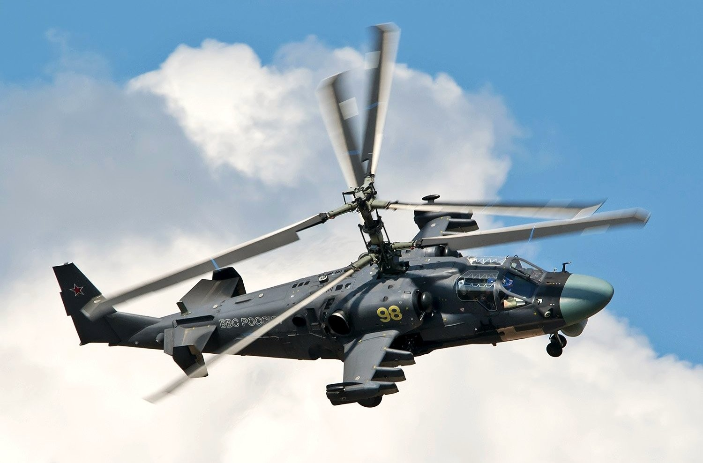 Ка-52 «Аллигатор» — ударный вертолет нового поколения