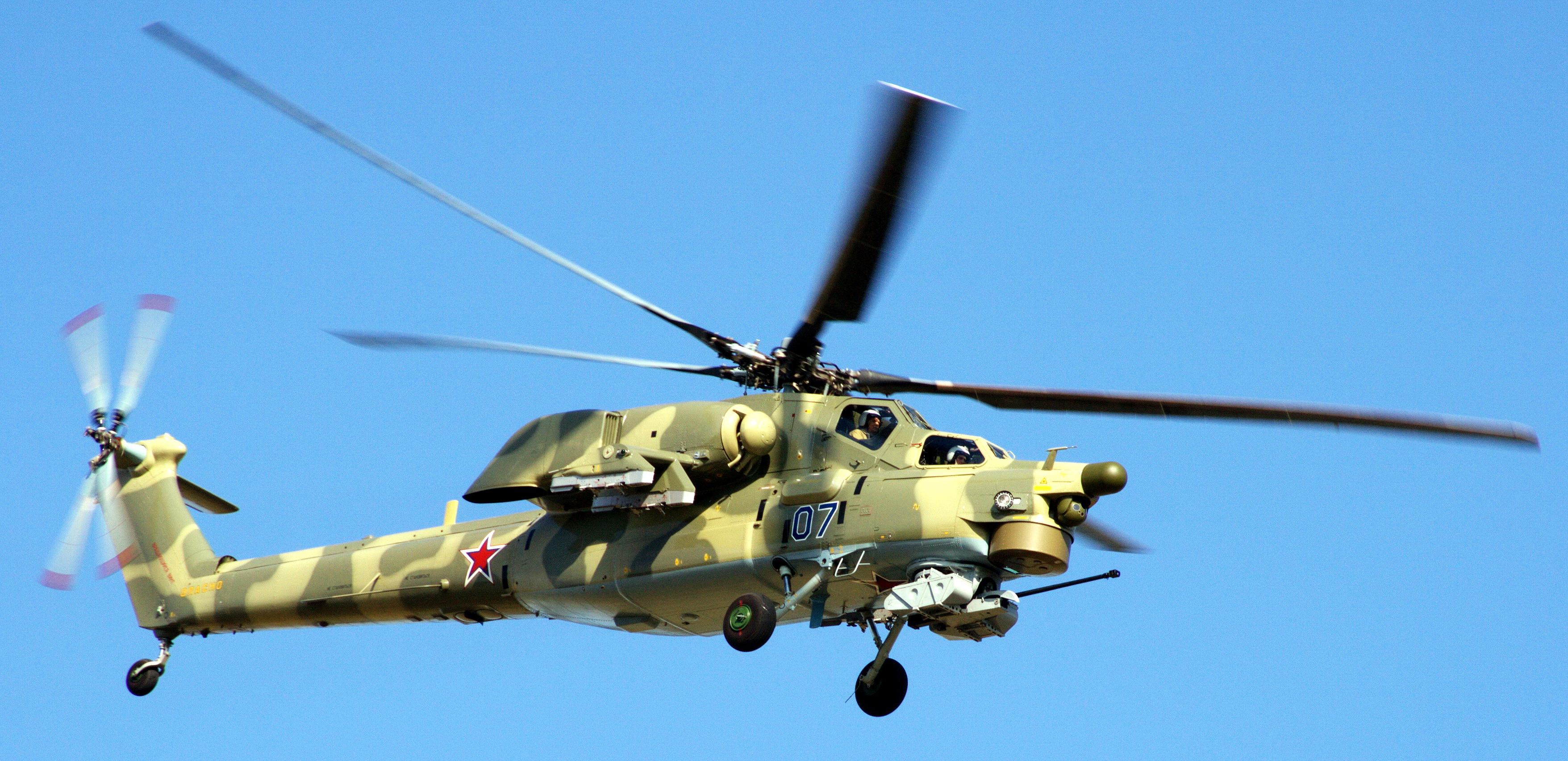 Ми-28Н «Ночной охотник» — российский ударный вертолет