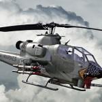 Белл AH-1 «Кобра» — американский ударный вертолет